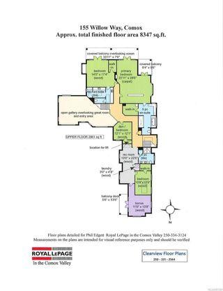 Photo 9: 155 Willow Way in Comox: CV Comox (Town of) House for sale (Comox Valley)  : MLS®# 887289