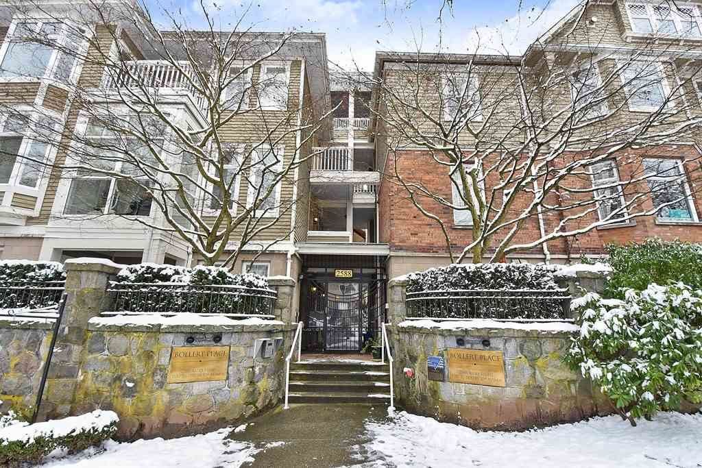 """Main Photo: 106 2588 ALDER Street in Vancouver: Fairview VW Condo for sale in """"BOLLERT PLACE"""" (Vancouver West)  : MLS®# R2429460"""