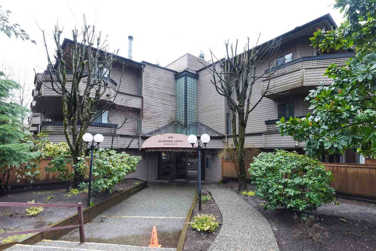 """Main Photo: 315 1195 PIPELINE Road in Coquitlam: New Horizons Condo for sale in """"Deerwood Court"""" : MLS®# R2147039"""