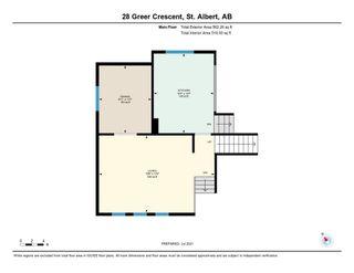 Photo 48: 28 GREER Crescent: St. Albert House for sale : MLS®# E4253444