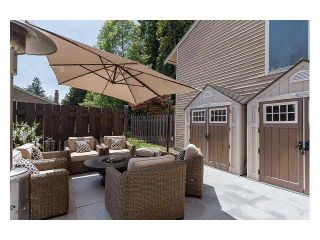 """Photo 17: 4687 HOSKINS Road in North Vancouver: Lynn Valley Townhouse for sale in """"Yorkwood Hills"""" : MLS®# V1130189"""