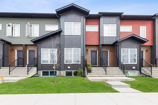 Photo 1: 136 Red Embers Gate NE in Calgary: Redstone Row/Townhouse for sale : MLS®# A1136048
