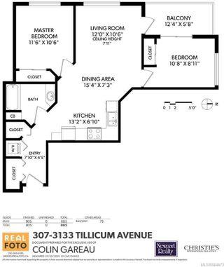 Photo 22: 307 3133 Tillicum Rd in Saanich: SW Tillicum Condo for sale (Saanich West)  : MLS®# 844473