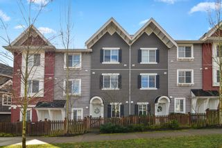 """Photo 1: 17 19128 65 Avenue in Surrey: Clayton Townhouse for sale in """"Brookside"""" (Cloverdale)  : MLS®# R2543768"""