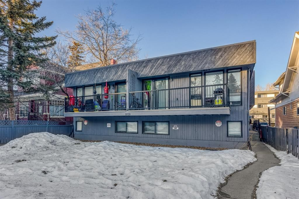 Main Photo: 1920 12 Avenue SW in Calgary: Sunalta Row/Townhouse for sale : MLS®# A1145737