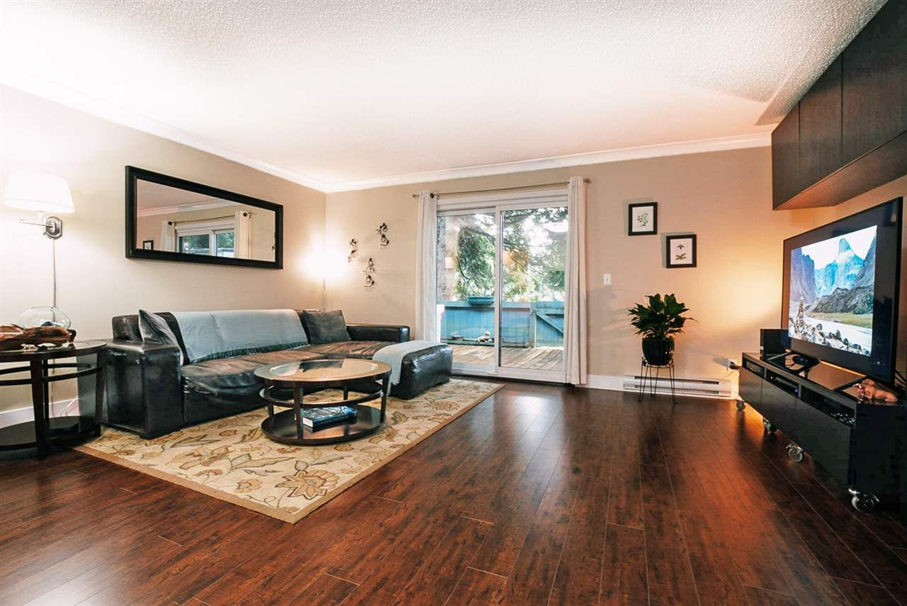 "Main Photo: 103 13730 67 Avenue in Surrey: East Newton Townhouse for sale in ""Hyland Creek Estates"" : MLS®# R2447714"