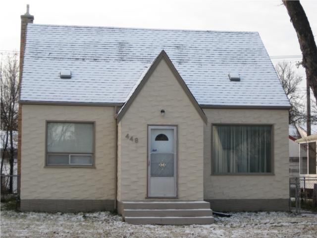 Main Photo: 448 JEFFERSON Avenue in WINNIPEG: West Kildonan / Garden City Residential for sale (North West Winnipeg)  : MLS®# 2950267