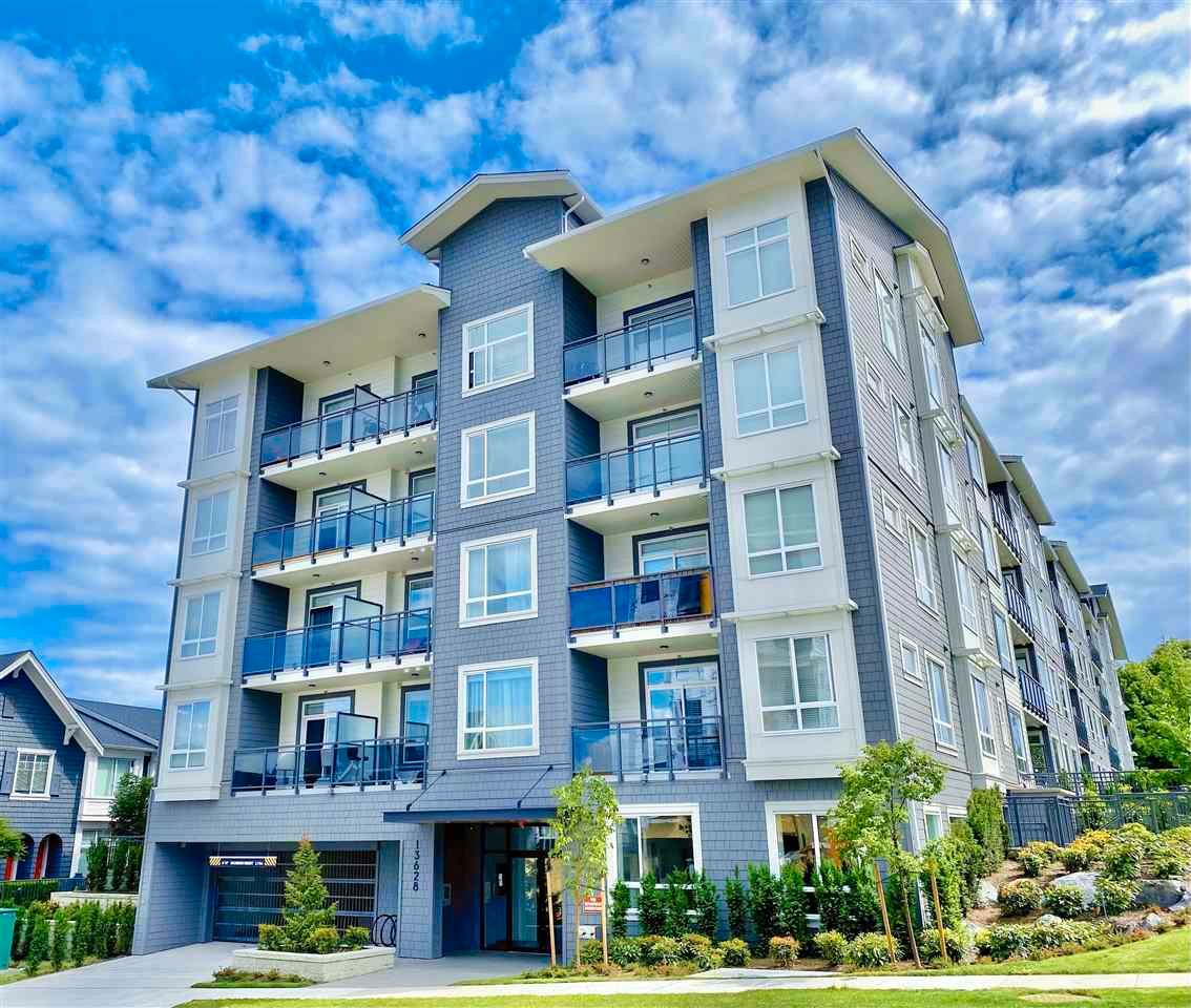 """Main Photo: 317 13628 81A Avenue in Surrey: Bear Creek Green Timbers Condo for sale in """"King's Landing"""" : MLS®# R2591271"""