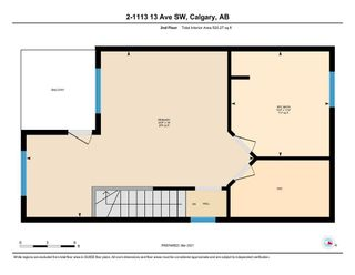 Photo 33: 2 1113 13 Avenue SW in Calgary: Beltline Row/Townhouse for sale : MLS®# A1070935