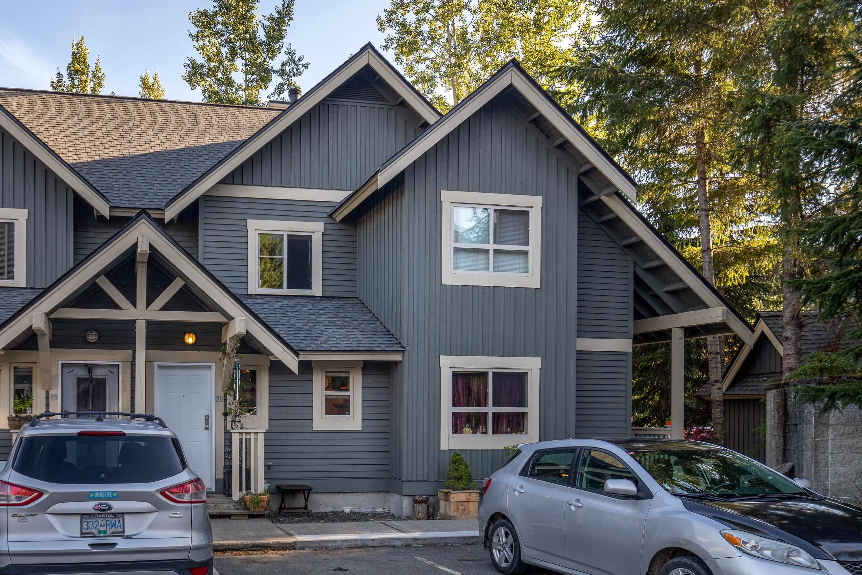 """Main Photo: 28 2720 CHEAKAMUS Way in Whistler: Bayshores Townhouse for sale in """"EAGLECREST"""" : MLS®# R2617757"""