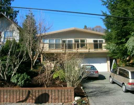 """Main Photo: 1033 BANBURY RD in North Vancouver: Deep Cove House for sale in """"DEEP COVE"""" : MLS®# V579740"""