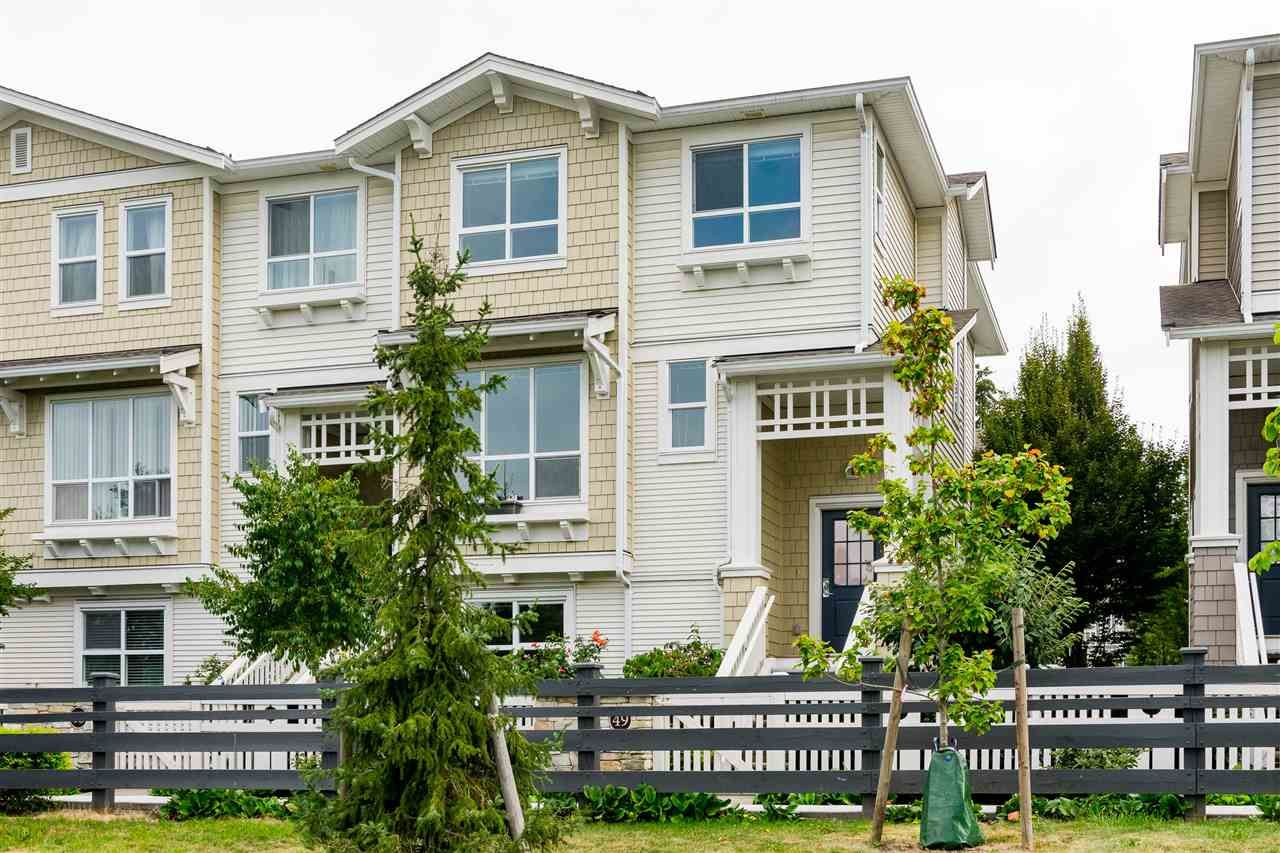 "Main Photo: 49 8355 DELSOM Way in Delta: Nordel Townhouse for sale in ""Spyglass"" (N. Delta)  : MLS®# R2494818"