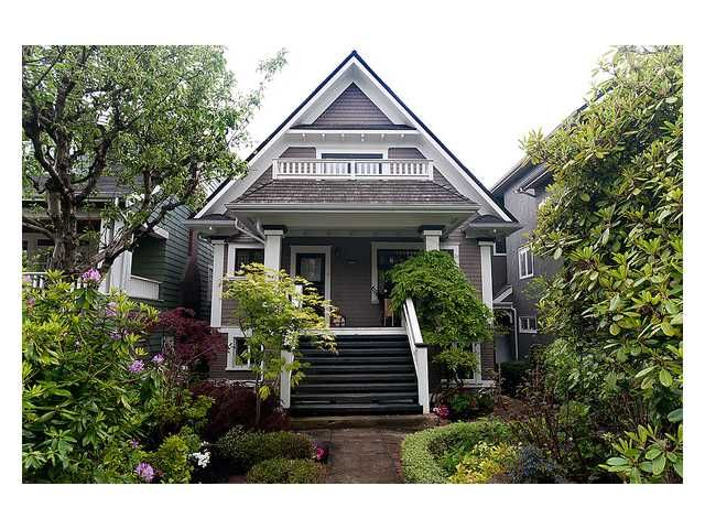 Photo 1: Photos: 3668 W 2ND Avenue in Vancouver: Kitsilano House for sale (Vancouver West)  : MLS®# V894204