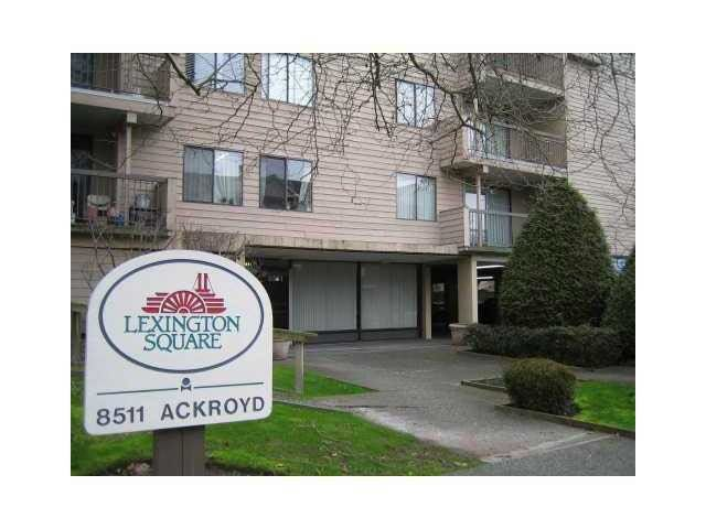 Main Photo: 116 8511 ACKROYD ROAD in : Brighouse Condo for sale : MLS®# R2121776