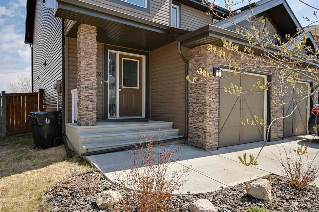 Main Photo: 22 PETER Street: Spruce Grove House Half Duplex for sale : MLS®# E4241998
