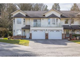 "Main Photo: 114 6841 138 Street in Surrey: East Newton Townhouse for sale in ""Hyland Creek Village"" : MLS®# R2546698"