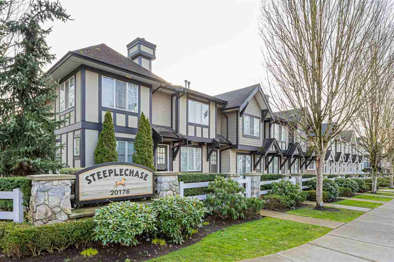 "Main Photo: 55 20176 68TH Avenue in Langley: Willoughby Heights Townhouse for sale in ""STEEPLECHASE"" : MLS®# R2535891"