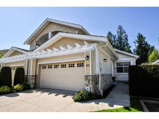 Photo 1: 61 3500 144TH Street in Surrey: Elgin Chantrell Townhouse for sale (South Surrey White Rock)  : MLS®# F1438879