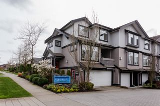 """Photo 2: 1 18828 69 Avenue in Surrey: Clayton Townhouse for sale in """"Starpoint"""" (Cloverdale)  : MLS®# R2255825"""