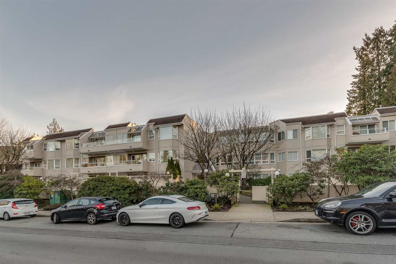 """Main Photo: 307 1155 ROSS Road in North Vancouver: Lynn Valley Condo for sale in """"THE WAVERLEY"""" : MLS®# R2385209"""