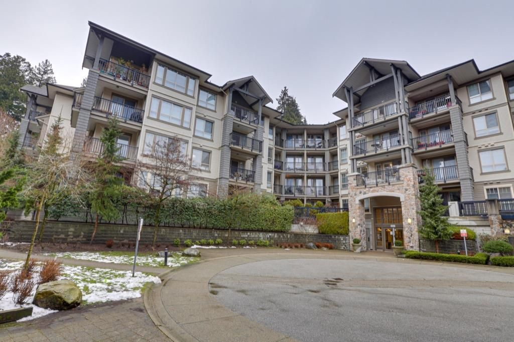 Main Photo: 208 2969 WHISPER Way in Coquitlam: Westwood Plateau Condo for sale : MLS®# R2538718