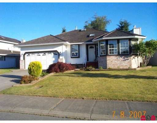 """Main Photo: 32368 SLOCAN Drive in Abbotsford: Abbotsford West House for sale in """"Fairfield Estates"""" : MLS®# F2718068"""