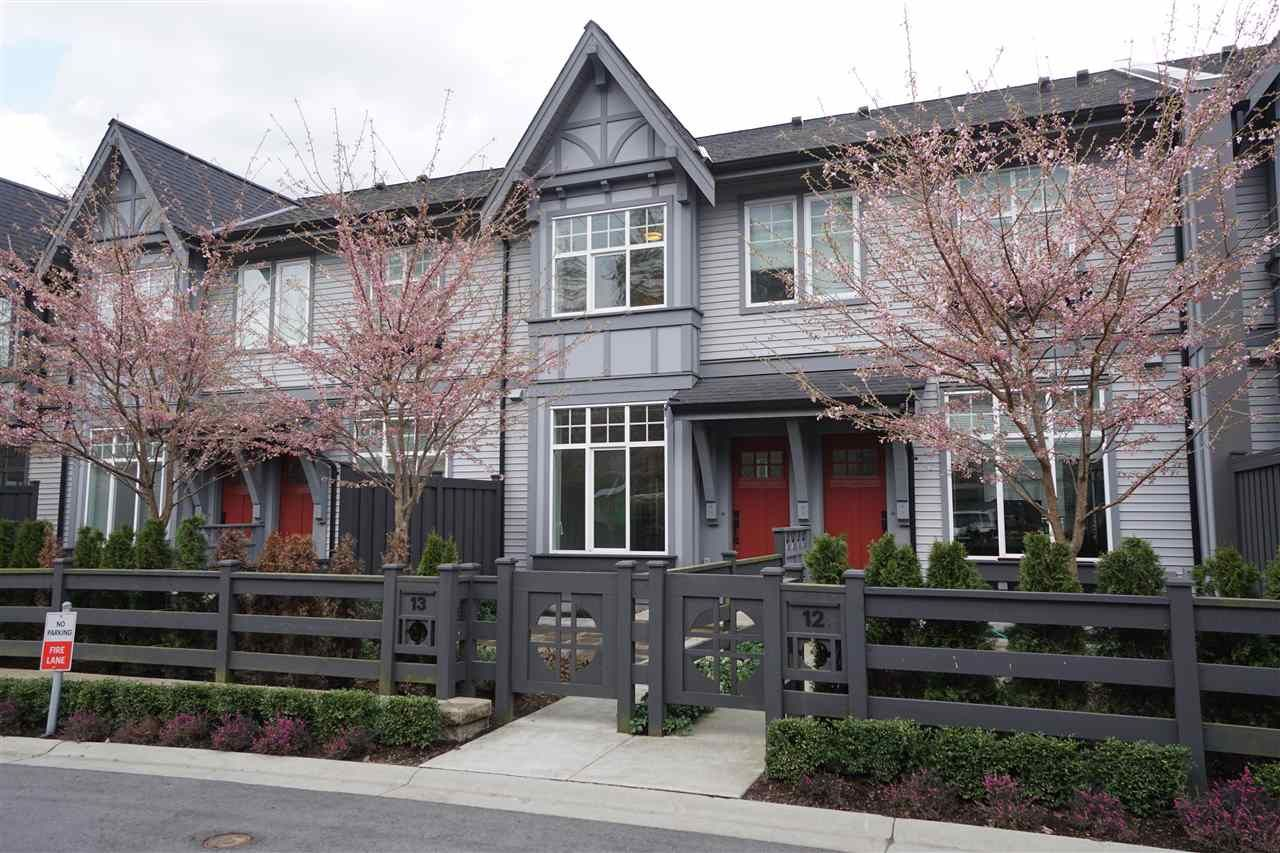 Main Photo: 13 1221 ROCKLIN Street in Coquitlam: Burke Mountain Townhouse for sale : MLS®# R2560795