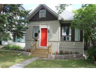 Photo 1: 215 Berry Street in WINNIPEG: St James Residential for sale (West Winnipeg)  : MLS®# 1417110