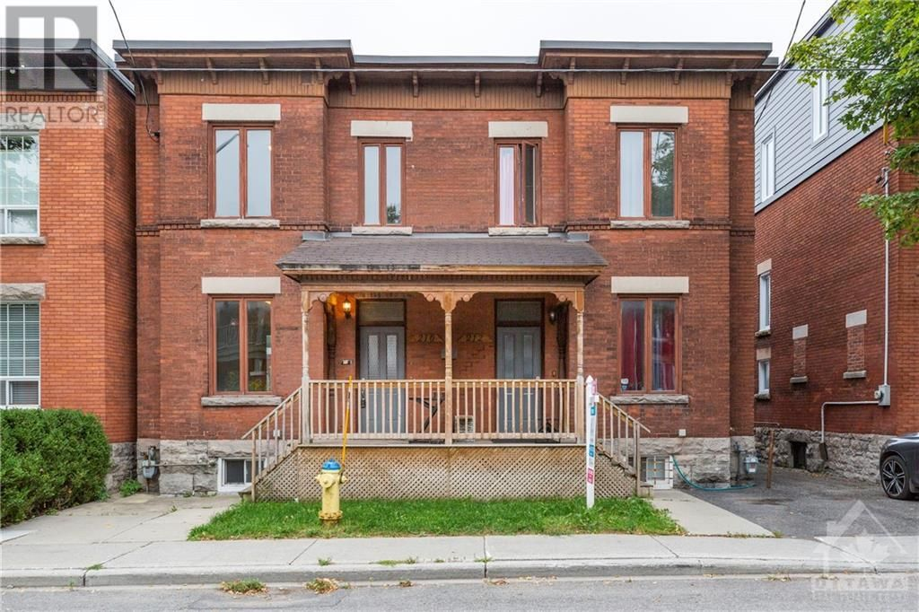 Main Photo: 210-212 FLORENCE STREET in Ottawa: Multi-family for sale : MLS®# 1260080