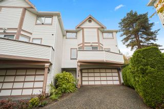 """Photo 1: 110 1232 JOHNSON Street in Coquitlam: Scott Creek Townhouse for sale in """"GREENHILL PLACE"""" : MLS®# R2622210"""