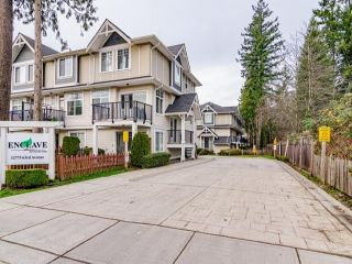 "Photo 1: 9 12775 63 Avenue in Surrey: Panorama Ridge Townhouse for sale in ""ENCLAVE"" : MLS®# R2560669"