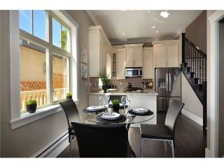 """Photo 2: 4 3828 PENDER Street in Burnaby: Vancouver Heights Townhouse for sale in """"""""The Heights"""""""" (Burnaby North)  : MLS®# V906615"""