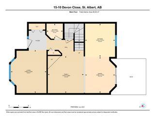 Photo 43: 15, 10 Devon Close: St. Albert Townhouse for sale : MLS®# E4249775