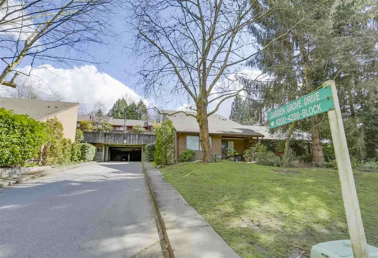 """Main Photo: 4336 GARDEN GROVE Drive in Burnaby: Greentree Village Townhouse for sale in """"GREENTREE VILLAGE"""" (Burnaby South)  : MLS®# R2406422"""