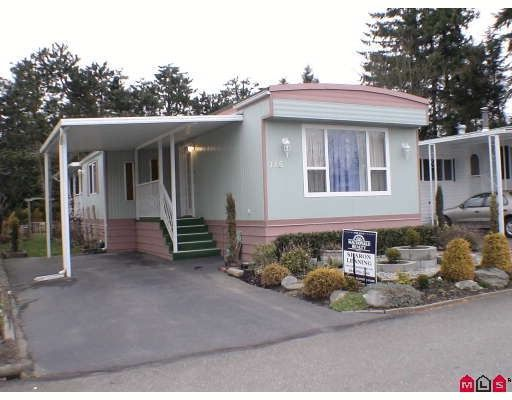 "Main Photo: 115 3665 244 Street in LANGLEY: Otter District Manufactured Home for sale in ""LANGLEY GROVE ESTATE"" (Langley)  : MLS®# F2904207"