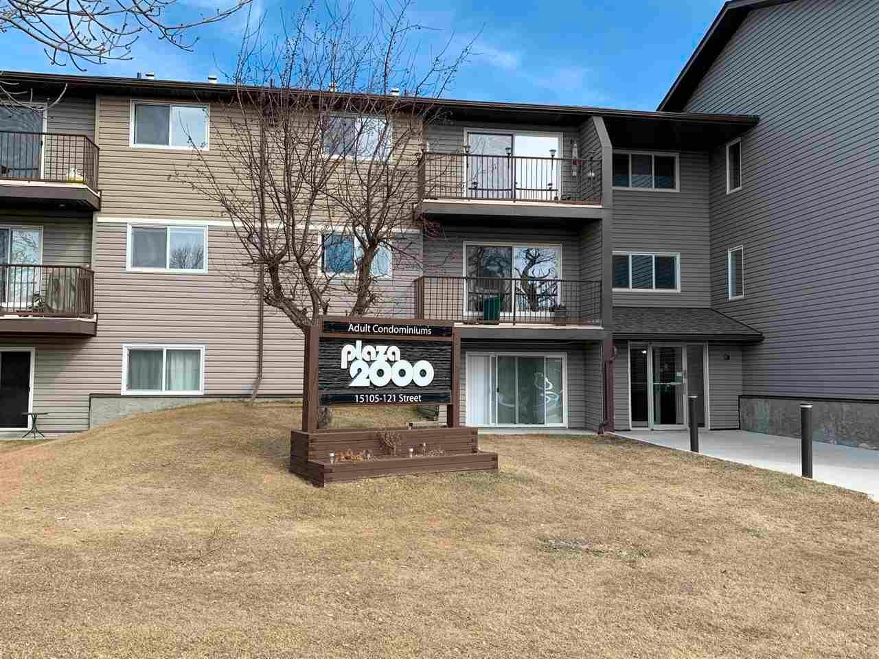 Main Photo: 324 15105 121 Street in Edmonton: Zone 27 Condo for sale : MLS®# E4239504