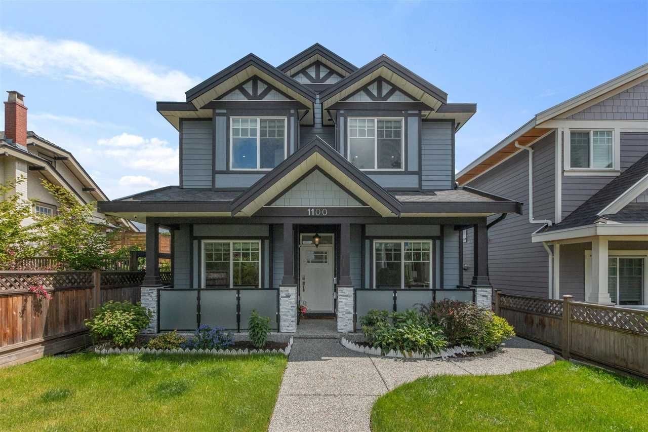 Main Photo: 1100 EIGHTH Avenue in New Westminster: Moody Park House for sale : MLS®# R2590660