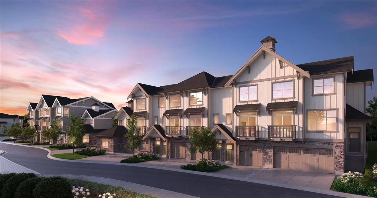 """Main Photo: 37 20487 65 Avenue in Langley: Willoughby Heights Townhouse for sale in """"TOWNSHIP COMMONS"""" : MLS®# R2557143"""