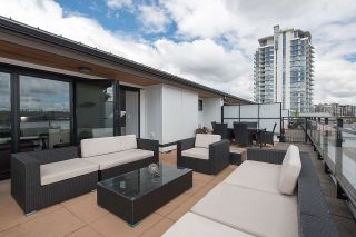 """Photo 19: 401 220 SALTER Street in New Westminster: Queensborough Condo for sale in """"GLASSHOUSE LOFTS"""" : MLS®# R2159431"""