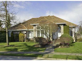 "Photo 1: 3472 CANTERBURY Drive in Surrey: Morgan Creek House for sale in ""Morgan Creek"" (South Surrey White Rock)  : MLS®# F1406566"