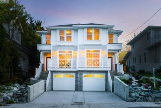 Photo 1: 1277 Walnut St in VICTORIA: Vi Fernwood Half Duplex for sale (Victoria)  : MLS®# 773114