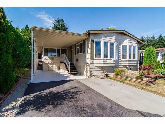 """Main Photo: 9 1640 162 Street in Surrey: King George Corridor Manufactured Home for sale in """"Cherry Brook Park"""" (South Surrey White Rock)  : MLS®# R2088159"""