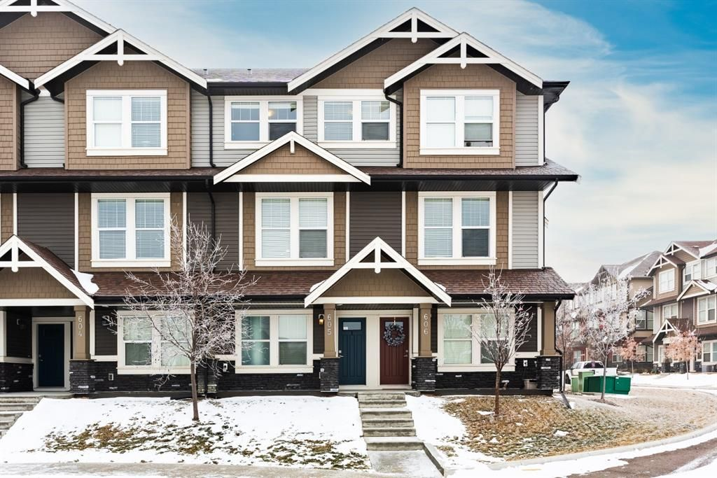 Photo 1: Photos: 605 280 Williamstown Close NW: Airdrie Row/Townhouse for sale : MLS®# A1048279