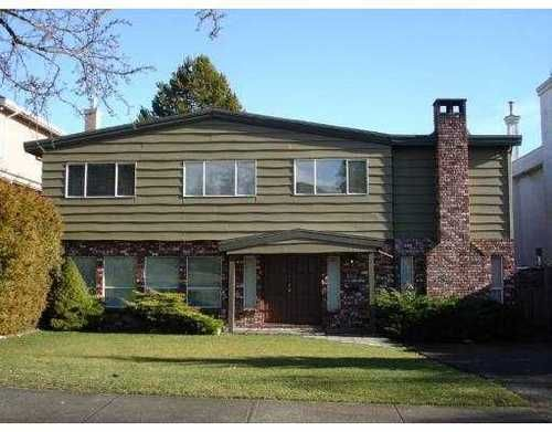 Main Photo: 6710 FREMLIN Street in Vancouver West: Home for sale : MLS®# V785931