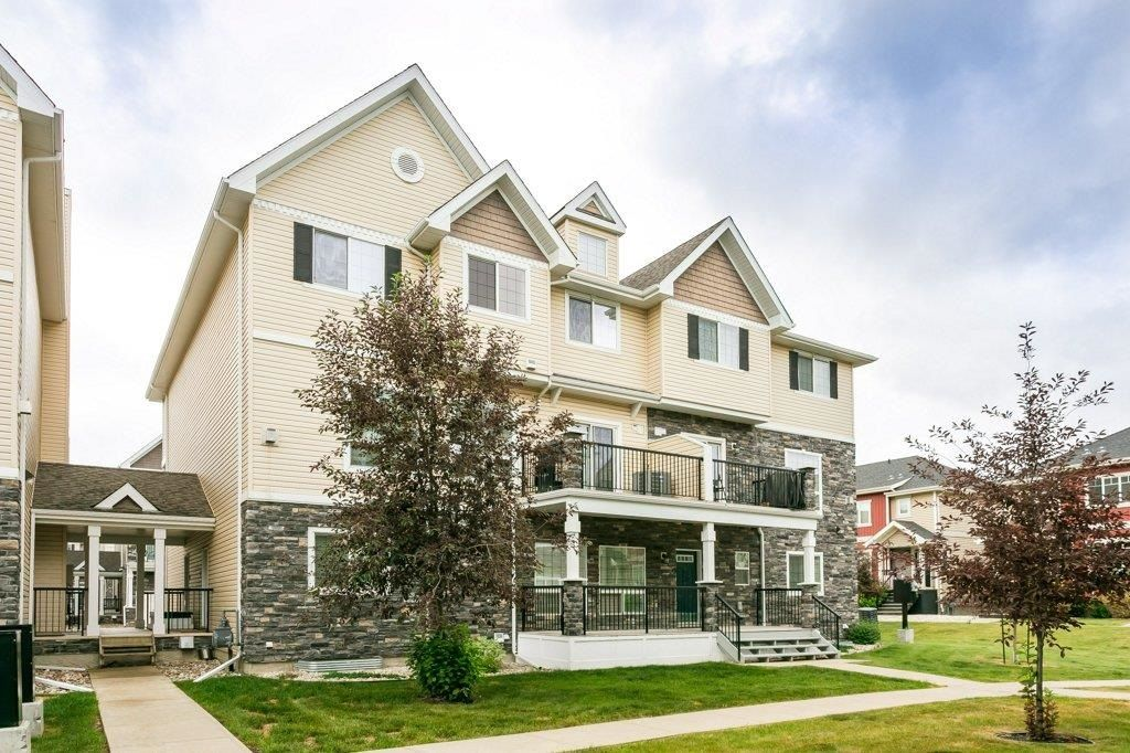 Main Photo: 54 7293 SOUTH TERWILLEGAR Drive in Edmonton: Zone 14 Townhouse for sale : MLS®# E4254117