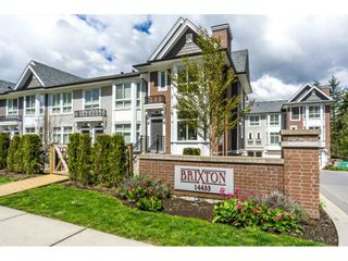 """Photo 1: 1 14433 60 Avenue in Surrey: Sullivan Station Townhouse for sale in """"Brixton"""" : MLS®# R2158472"""