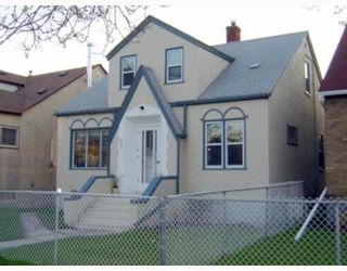 Photo 1: 390 PARR Street in WINNIPEG: North End Residential for sale (North West Winnipeg)  : MLS®# 2910348
