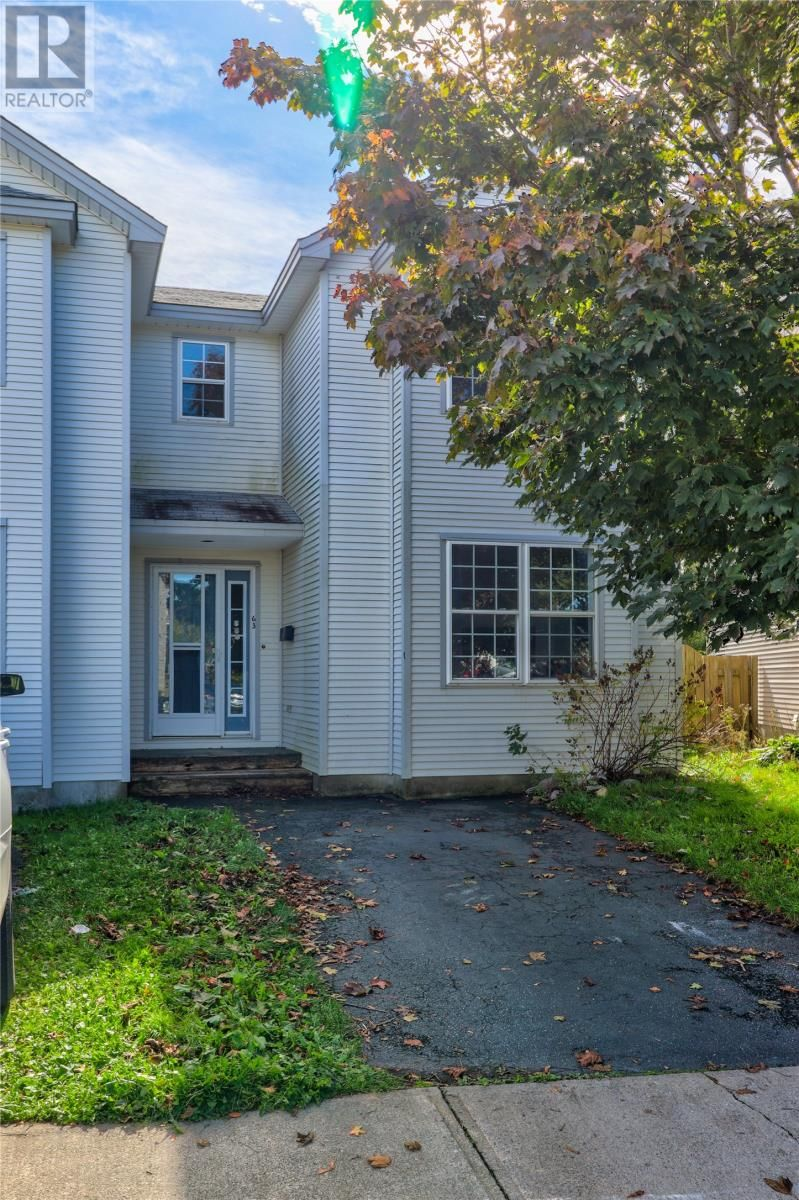 Main Photo: 63 Moss Heather Drive in St. John's: House for sale : MLS®# 1237786