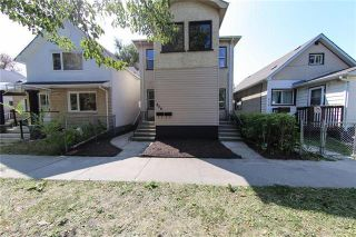 Photo 1: 856 Pritchard Avenue in Winnipeg: North End Residential for sale (4B)  : MLS®# 202109553