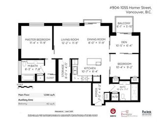 "Photo 16: 904 1055 HOMER Street in Vancouver: Yaletown Condo for sale in ""DOMUS"" (Vancouver West)  : MLS®# R2173690"
